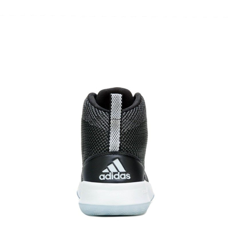 24abf68c6be Adidas Men s Cloudfoam Ignition Mid Basketball Shoes (Black White)