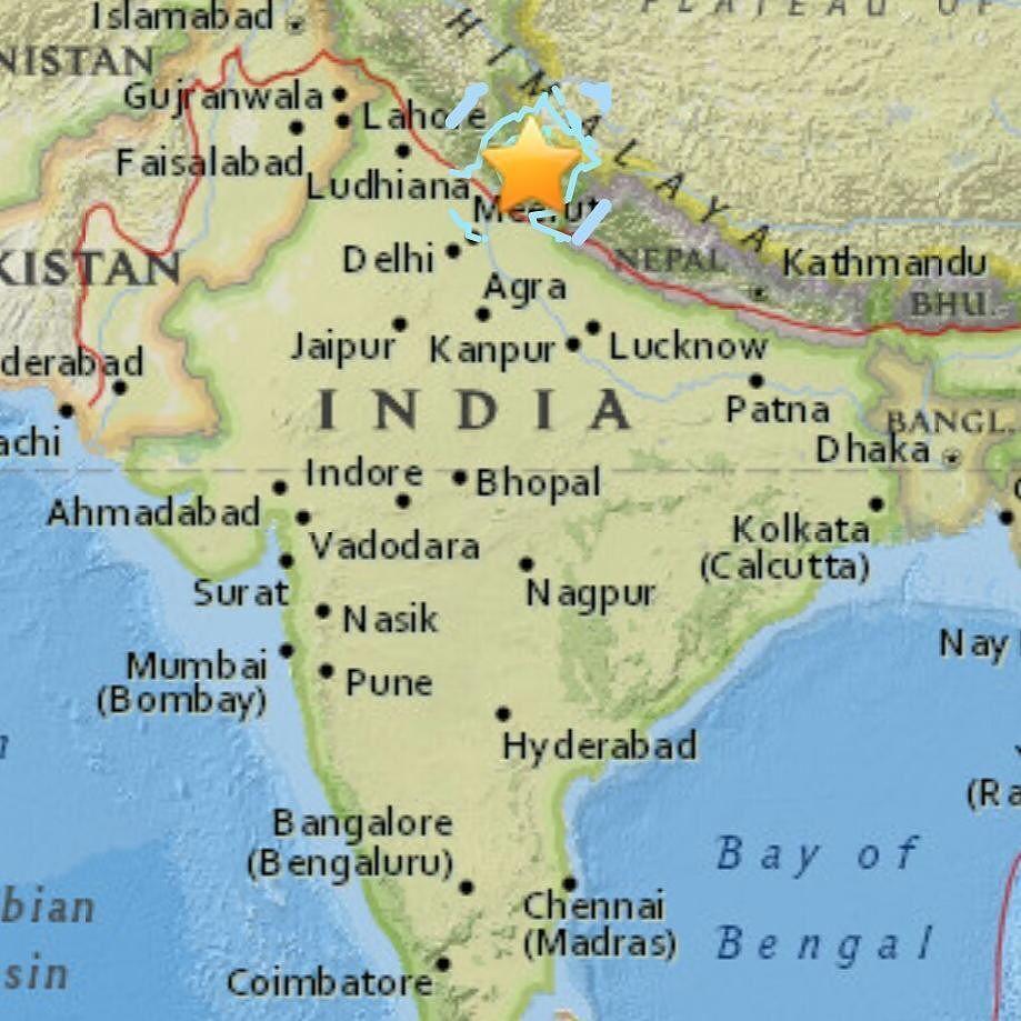 شبكة أجواء زلزال بقوة 5 6 درجة وبعمق 10 كم يضرب شمال الهند اليوم في الساعة 17 03 06 بالتوقيت العالمي Instagram Posts Instagram Photo