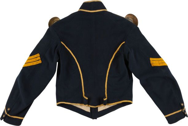 Militaria:Uniforms, About Mint US Civil War Cavalry Sergeant's Shell Jacket....