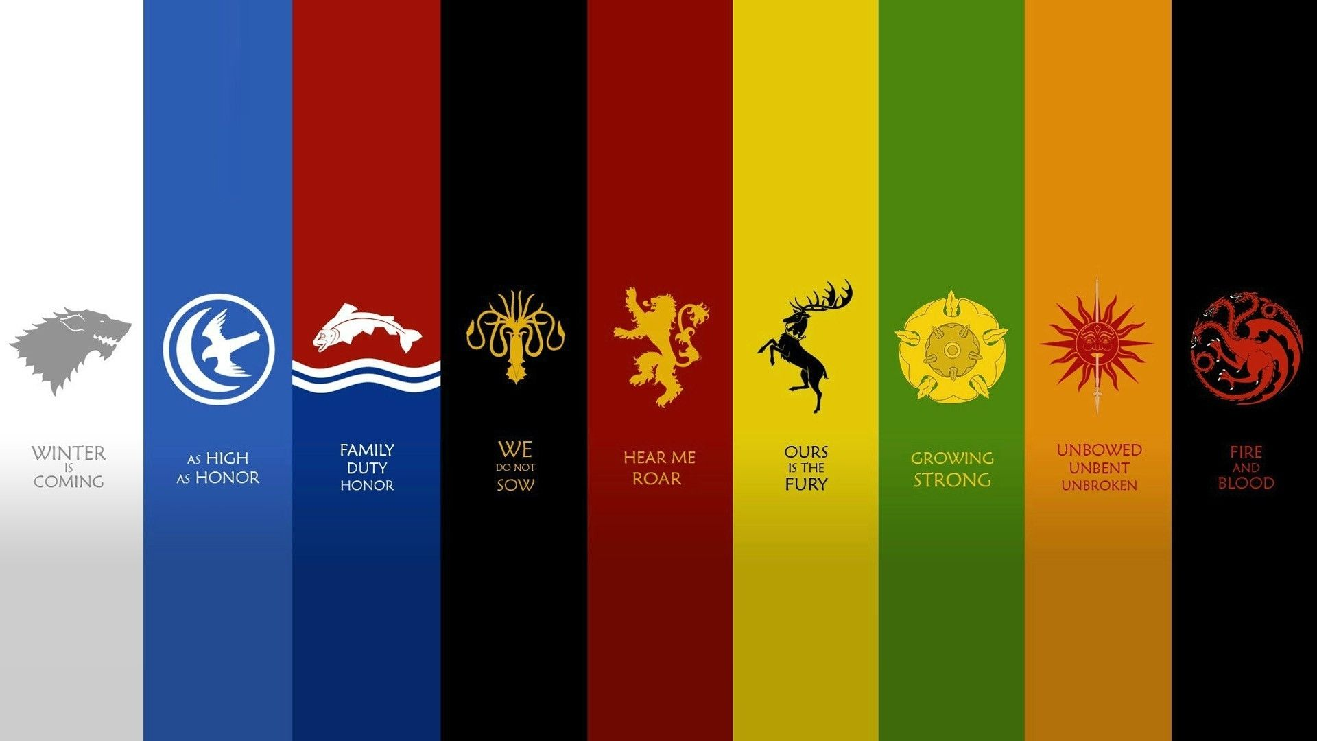 Preview Resize And Download Download Hd Wallpapers Game Of Thrones Houses Game Of Thrones Fans Game Of Thrones Sigils