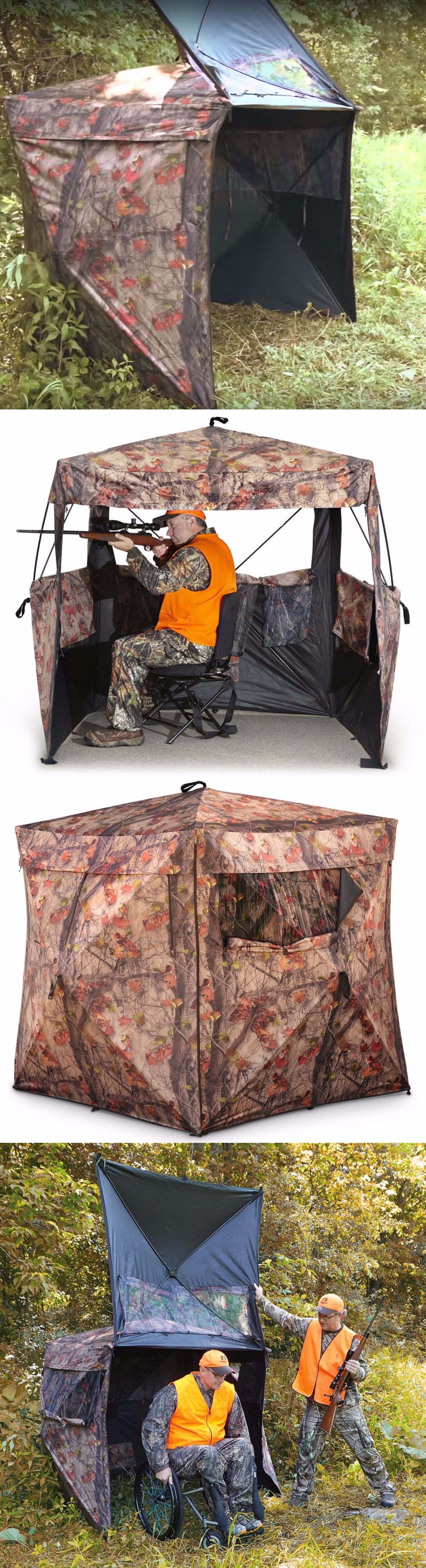 com person blinds walmart blind pop ground hunting ip up