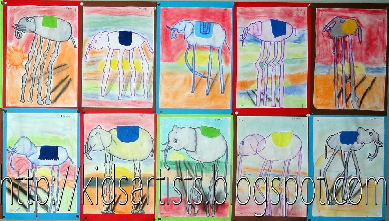 Salvador Dali Kids Artists