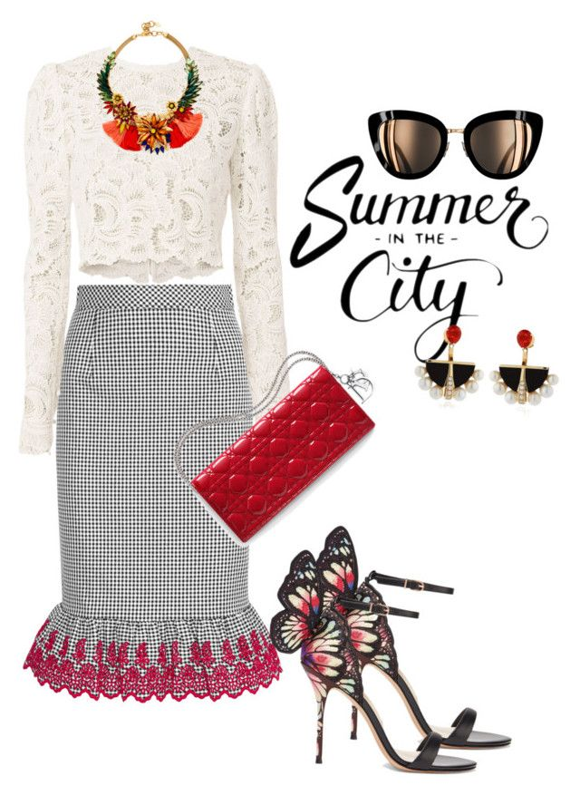 """""""summer"""" by omahtawon ❤ liked on Polyvore featuring Sophia Webster, Altuzarra, A.L.C., Elizabeth Cole and Lalique"""