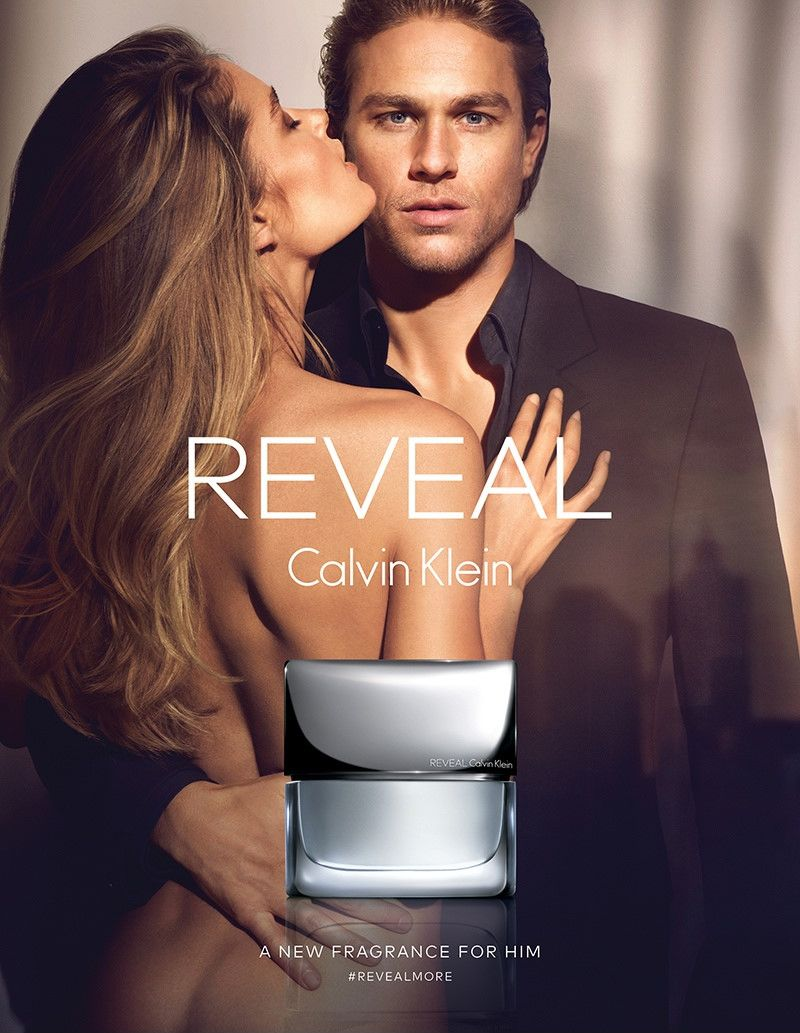 Doutzen Kroes fronts Calvin Klein Reveal fragrance campaign featuring Charlie Hunnam.