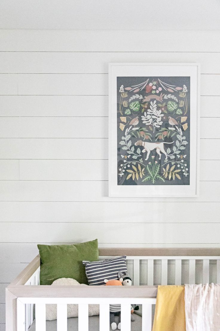 Old meets new in amandaus farmhouse chic nursery childrenus
