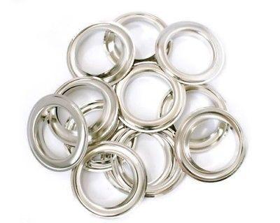 Eyelets 28137 40mm Brass Grommets Silver Eyelets Washers