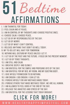 55 Positive Sleep Affirmations for a Restful Night