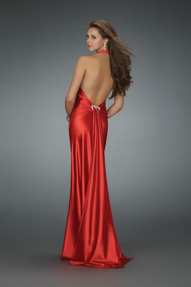 Be A Lady For Cocktail Party Red Cocktail Dresses Backless