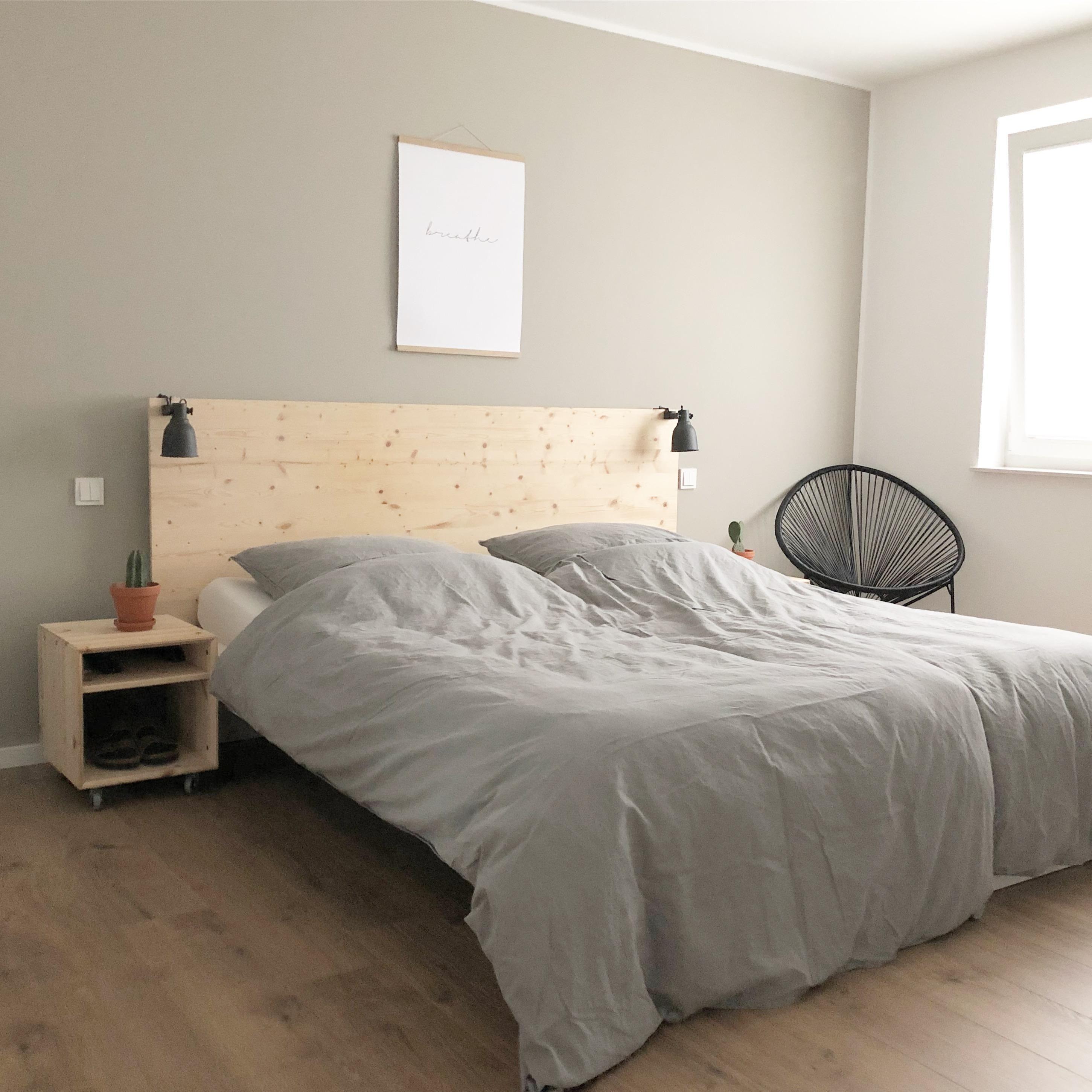 Bedroom Schlafzimmer Bett Diy Malm Ikea Ikea