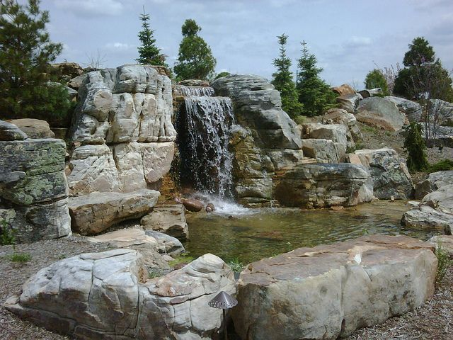 Genial This Awesome Waterfall And Installation Was Built By Aquascape Designs Inc.  And Is Located In