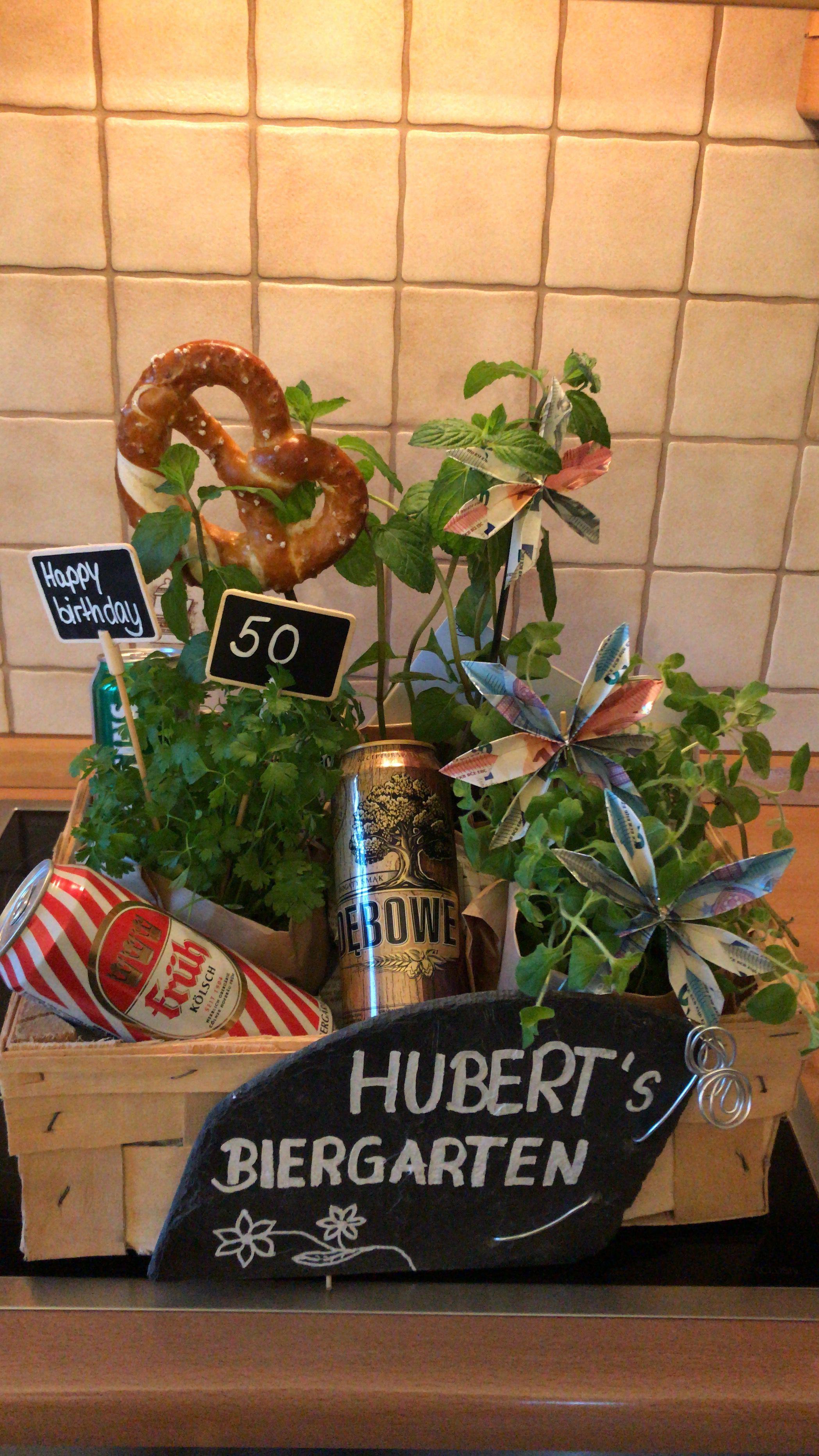 Happybirthday Geschenk Bier Garten Geburtstag Feiern Freunde In 2020 Diy Presents Pinterest Blog