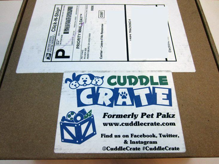 Cuddle Crate Cat Subscription Box Review + Coupon - Jun 2016 - Read our review of the June 2016 Cuttle Crate for cats and save with our coupon!