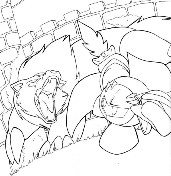 Coloring Knight Meta Pages 2020 Coloring Pages Meta Knight
