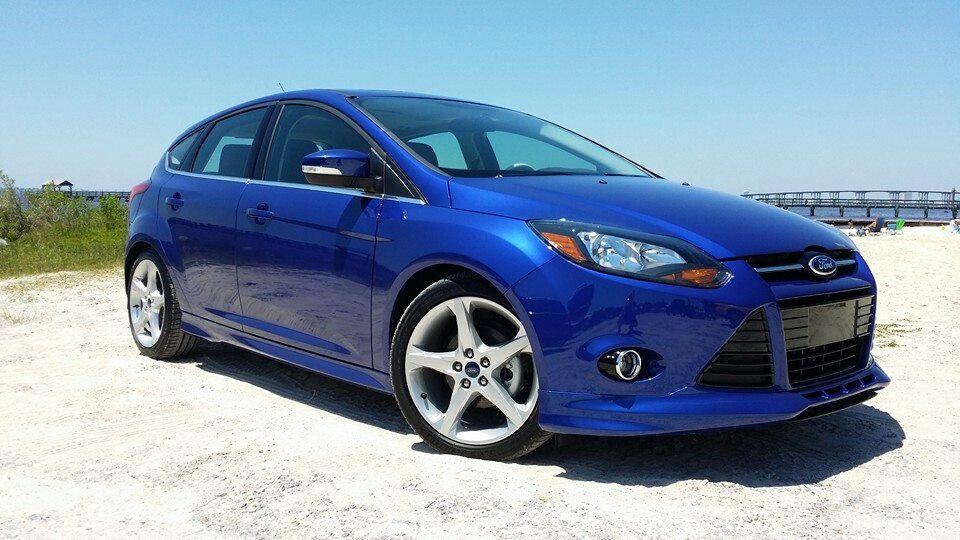 2014 Ford Focus Titanium Performance Blue With Body Kit Pkg