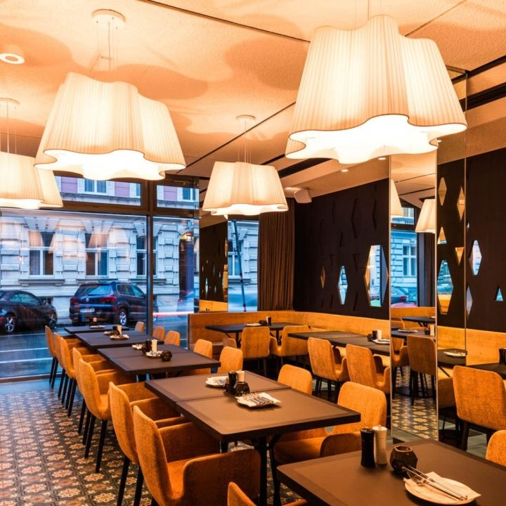 The Room Sofiensäle by Söhne & Partner Architekten, Vienna   Austria restaurant club cafe bar