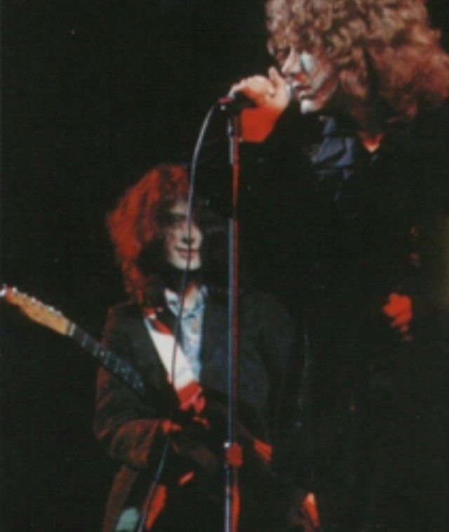 Robert Plant Jimmy Page