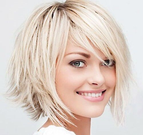 Short haircut for fine hair