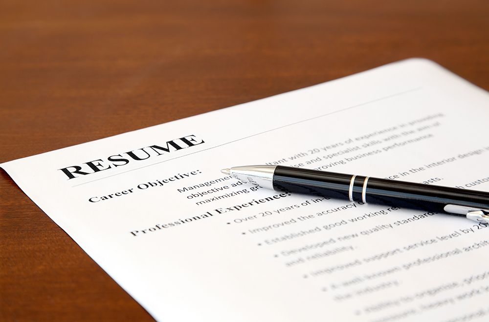 How to write a resume for mba application resume