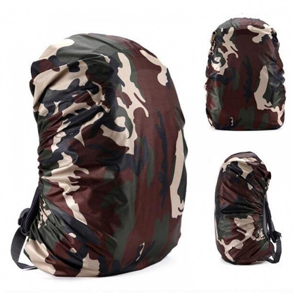 Waterproof Dust Rain Backpack Cover Travel Hiking Outdoor Rucksack Bags 20L-45L