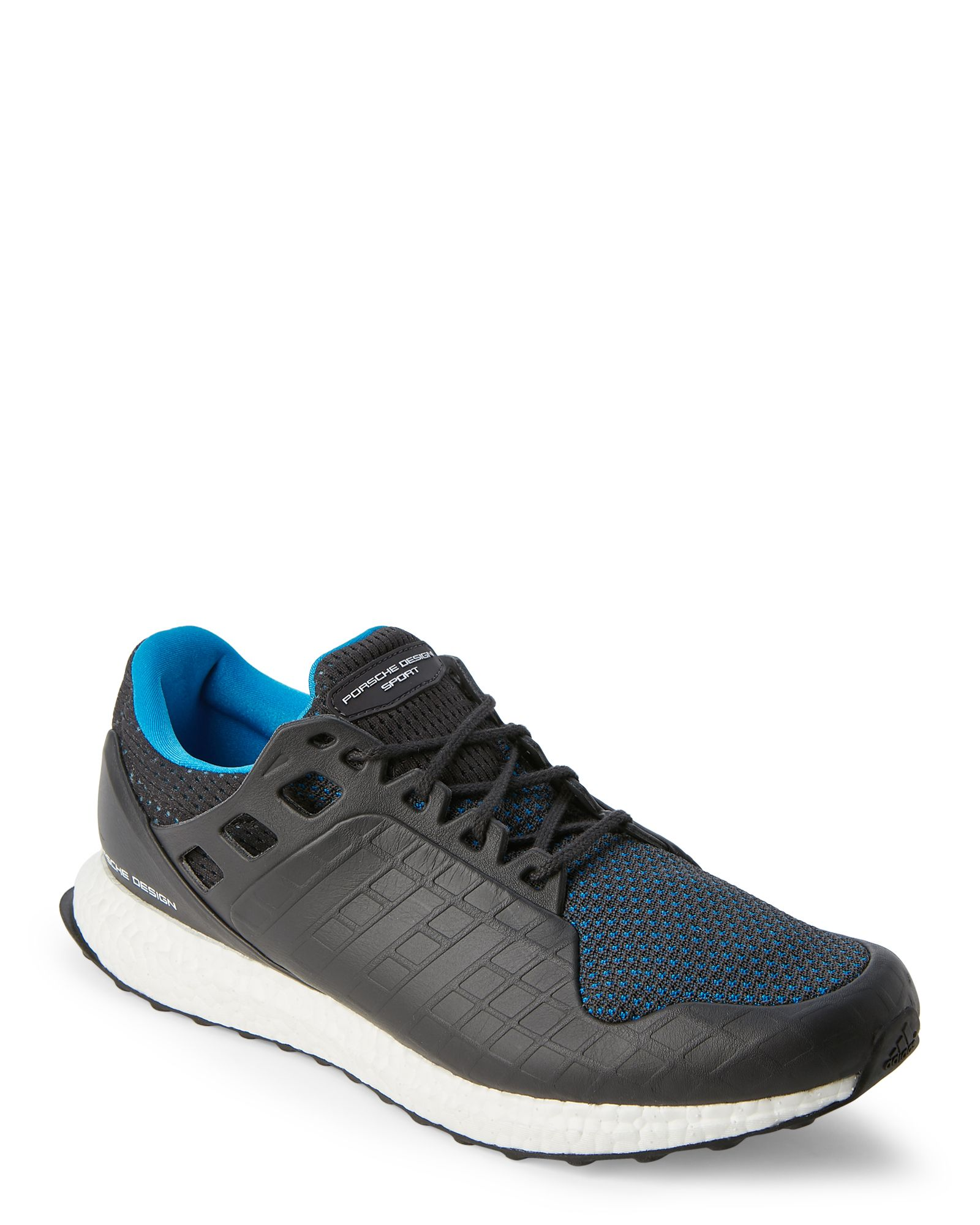 ef0e5d41b Adidas Porsche Design Sport Grey   Blue PDS Ultra Boost Trail Sneakers