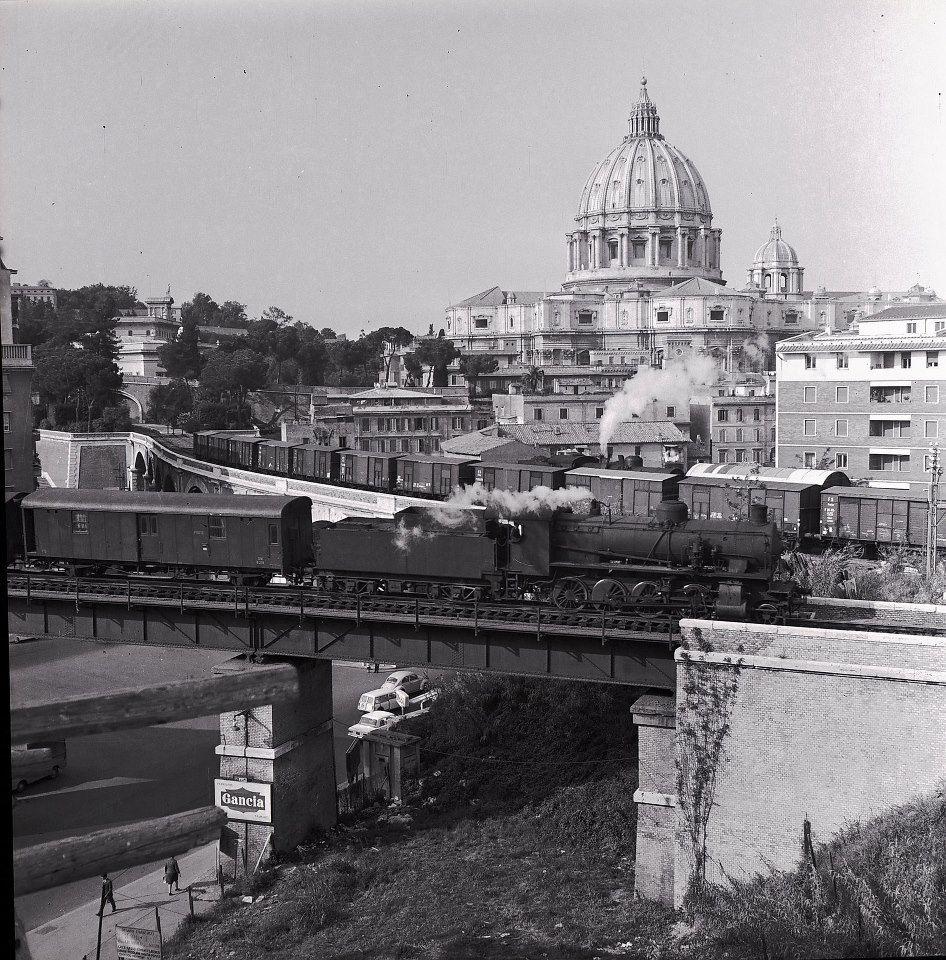 Roma - Stazione S. Pietro  Foto Vintage