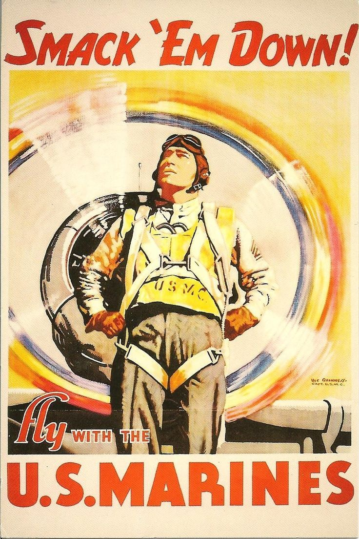 marine corps vintage posters