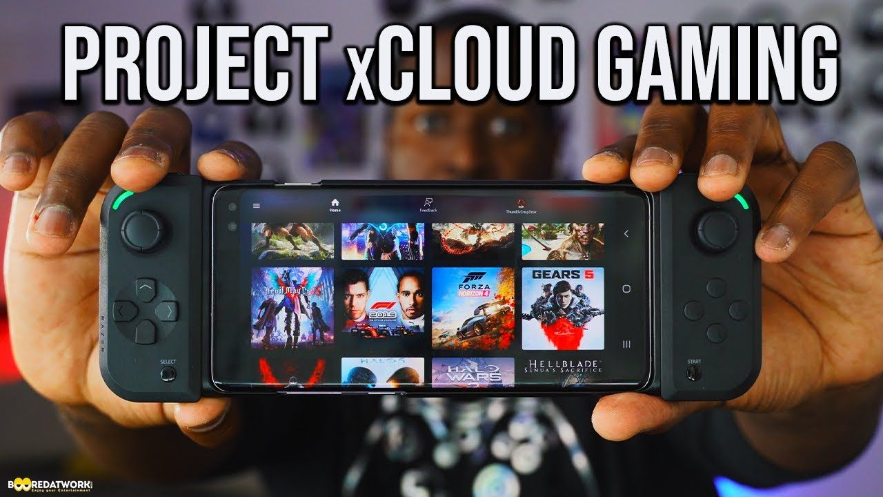 Project xCloud The Portable Xbox!