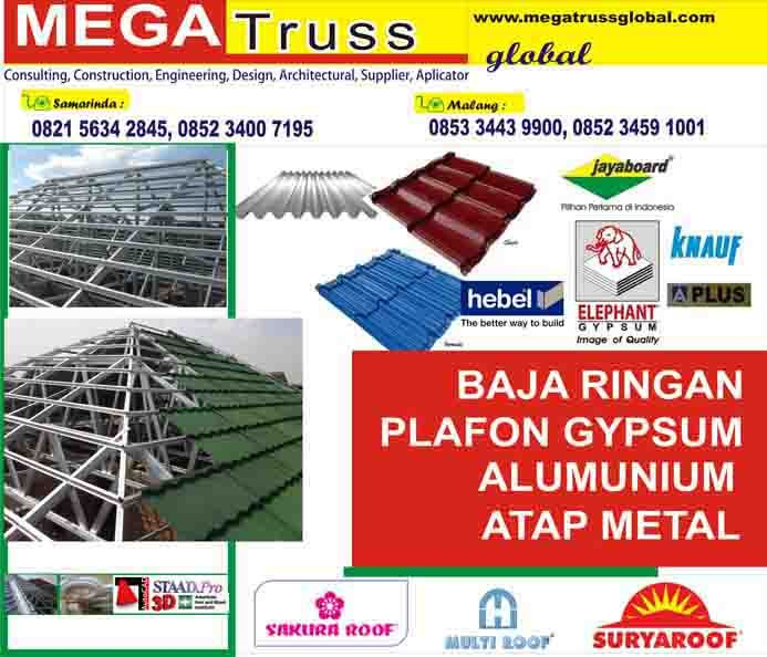 baja ringan aplus mie ayam pak petruk gypsum four square engineering