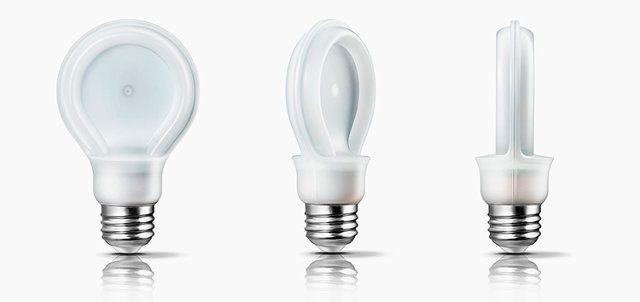 Why Philips Flattened The Light Bulb Light Bulb Led Recessed Lighting Incandescent Light Bulb