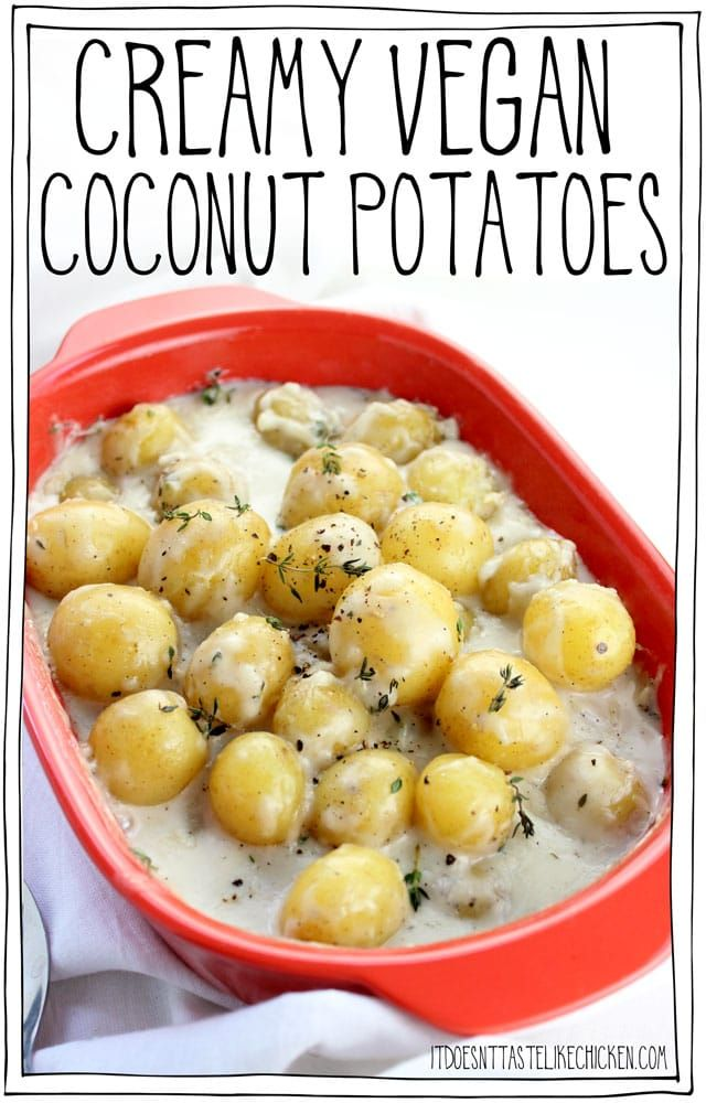 Creamy Vegan Coconut Potatoes