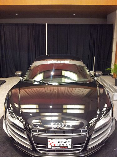 Audi perfect for vain peps to look at themselves