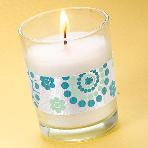 Diy Blue Lazy Susan Votive Candle Baby Showers 70th Birthday