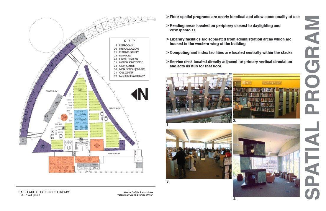 salt lake city public library plan google search architecture