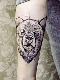 bildergebnis f r russischer b r tattoo tattoo pinterest b ren tattoo russische tattoos. Black Bedroom Furniture Sets. Home Design Ideas