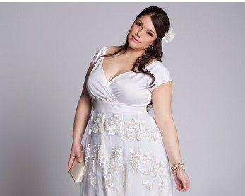Vestidos de novia para mujeres con senos grandes