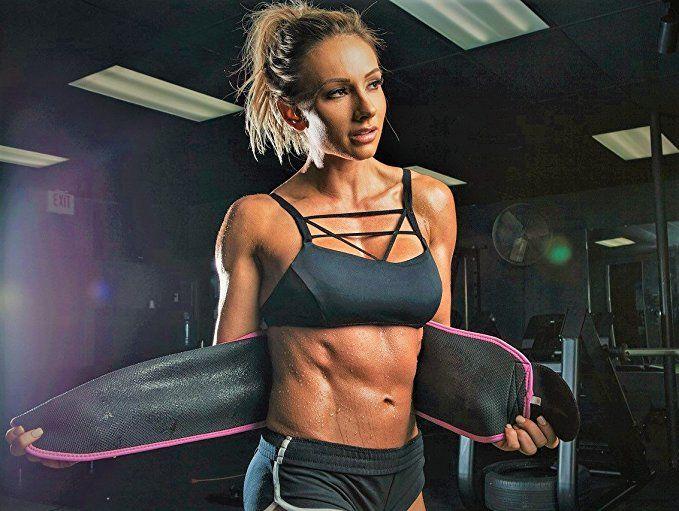 a2eba41731 Amazon.com   Sports Research Sweet Sweat Premium Waist Trimmer