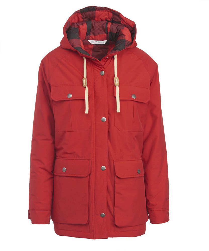 sale retailer ba960 4ef22 Woolrich Advisory Wool Insulated Mountain Parka Red XSmall ...