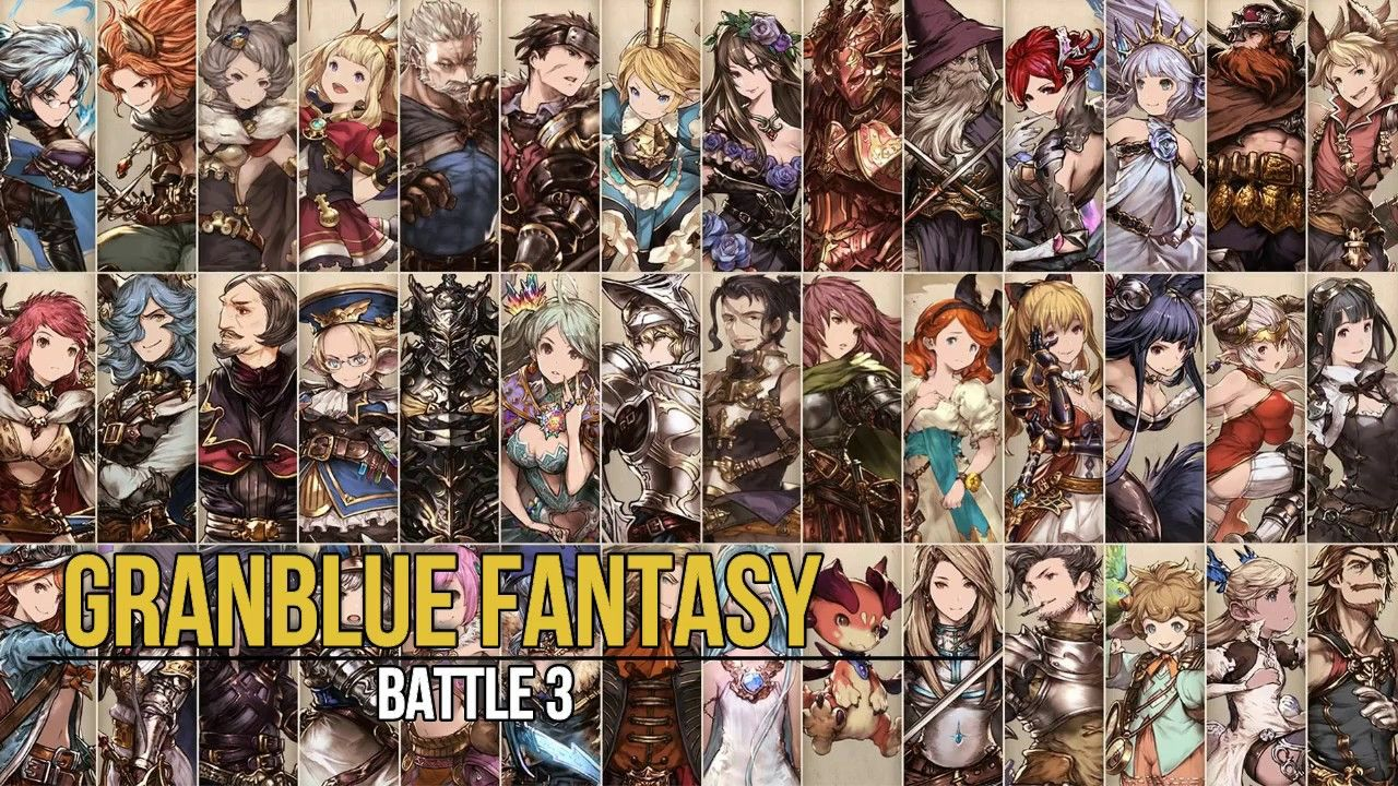 Favorite VGM 167 Battle 3 Granblue Fantasy Fantasy