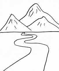 Image result for how to draw the smoky mountains for kids