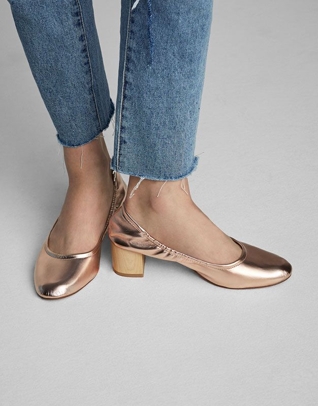 Laminated High Heel Shoes Heeled Shoes Shoes Woman Pull Bear Taiwan Heels Shoes High Heel Shoes