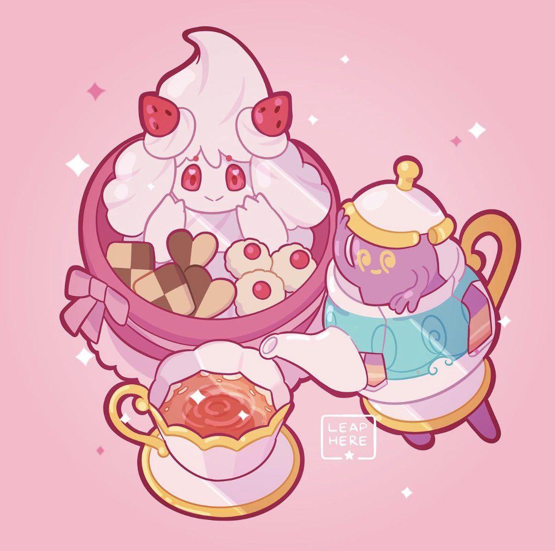 Artist Leaphere Leaphere Twitter Fairy Type Pokemon Pokemon Cute Pokemon
