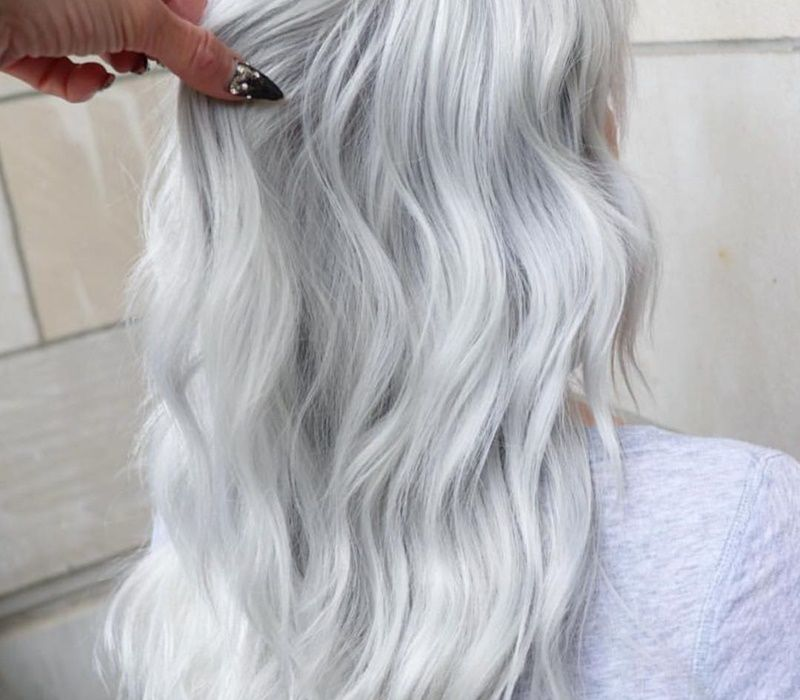 Platinum Blonde Hair Styles Are Interesting Because They Cover A