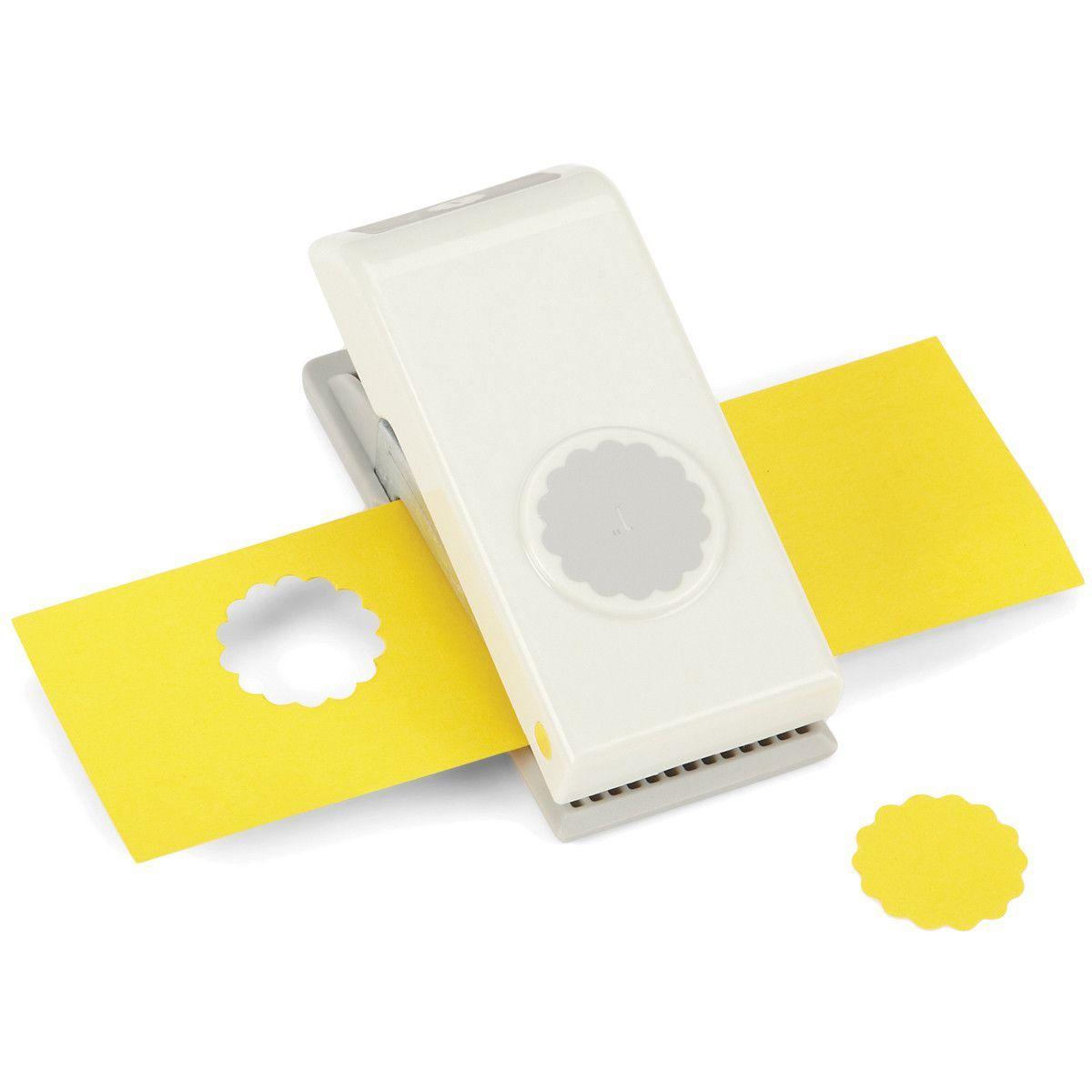 "2/"" SCALLOP CIRCLE SLIM Nesting Paper Punch by EK Success"