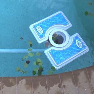 Skim A Round The Floating Pool Skimmer The Ultimate Pool Skimmer Floating Pool Skimmer Pool Skimmer Skim A Round
