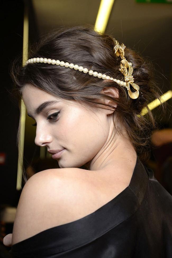 Recogidos de Dolce & Gabbana   Trendencias Belleza