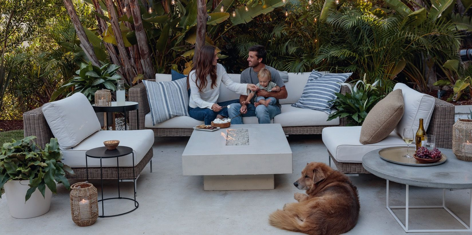 The world's most comfortable durable and innovative outdoor sofa ...