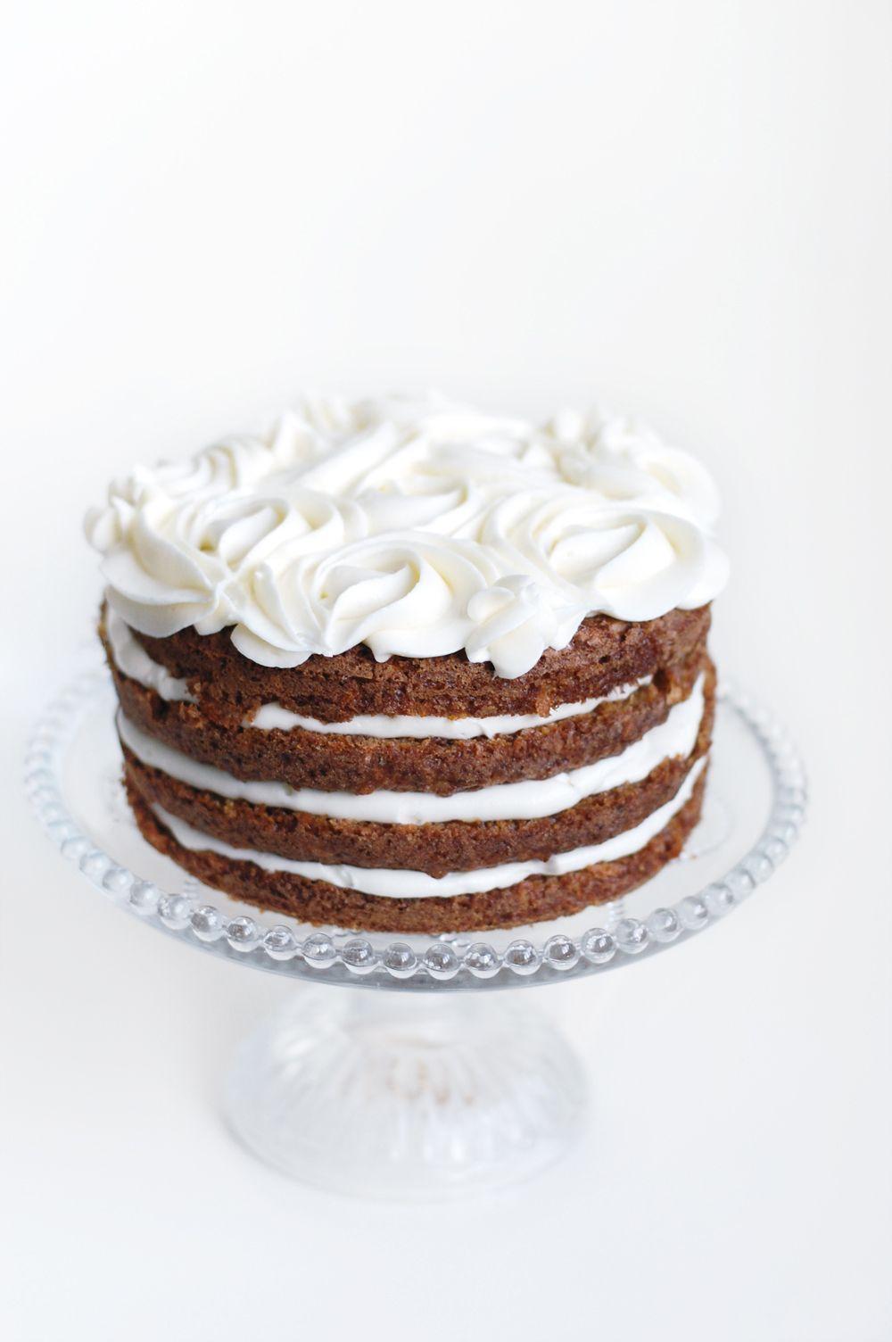 Gulerodslagkage Sweet Layers Cake Copenhagen Cake Carrot Cake
