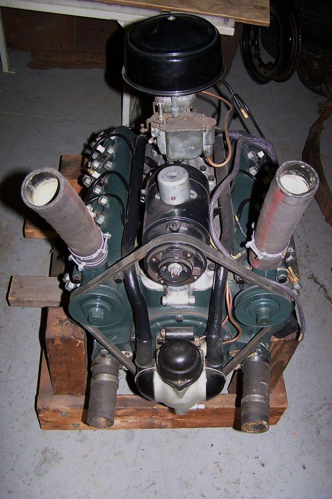1932 ford flathead engine rebuilt original 221 v8