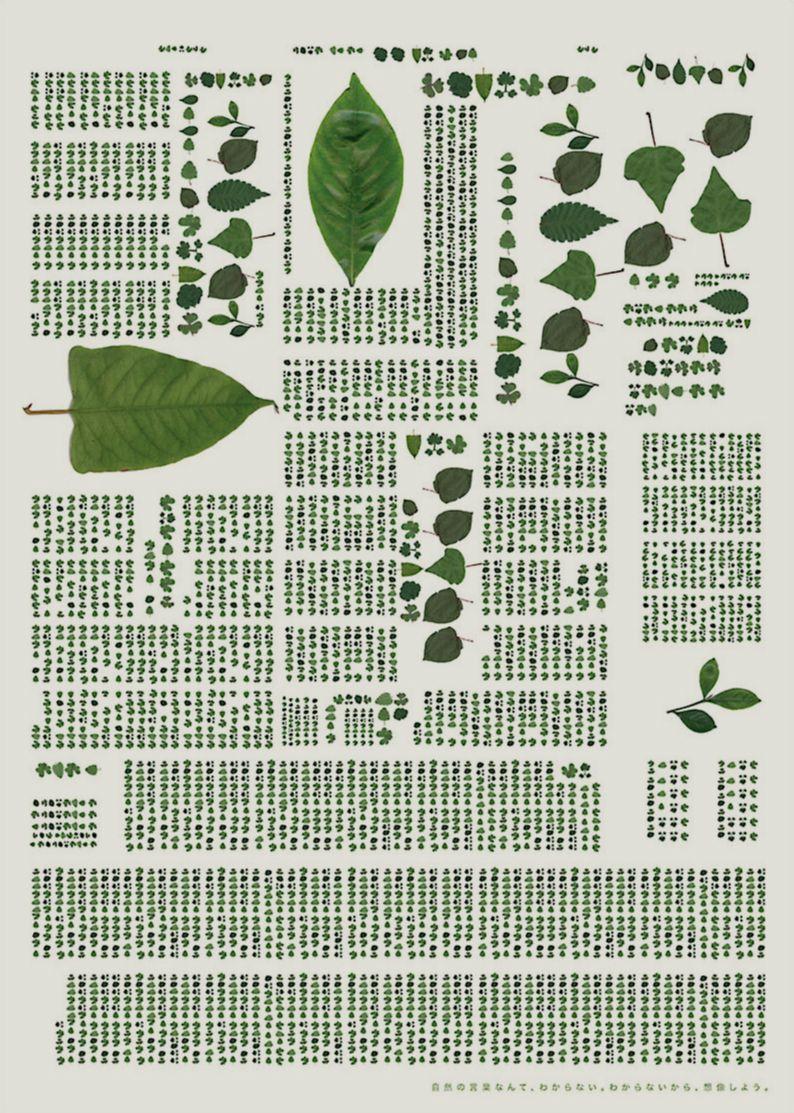 自然の言葉 (language of nature) : Advertising about environment: by Yui Chikazawa