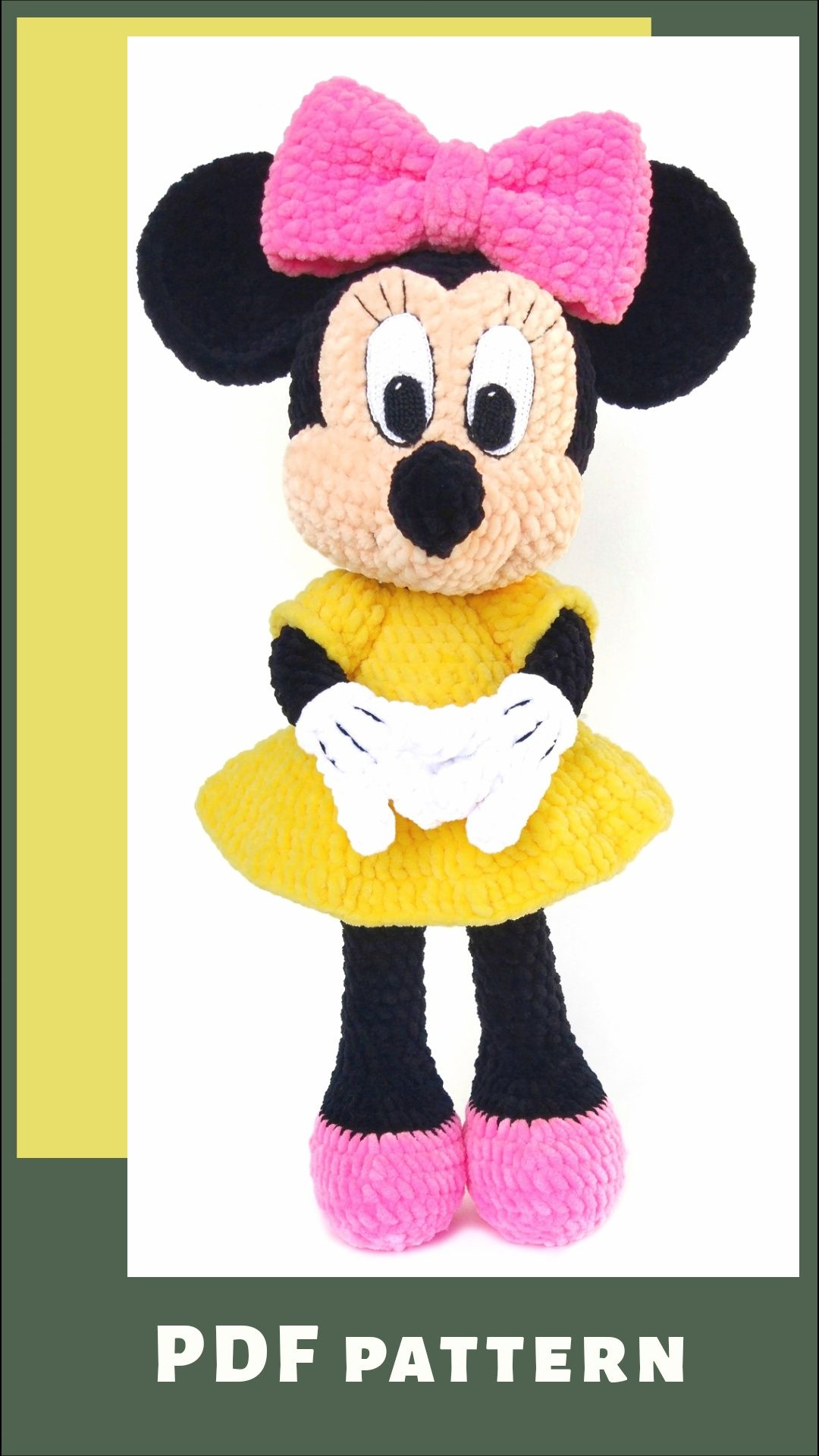 Mickey And Minnie Mouse Crochet Patterns | The WHOot | 1920x1080
